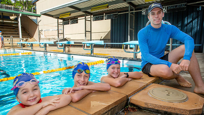 Grant Means New Opportunities for Sandgate Swimmers
