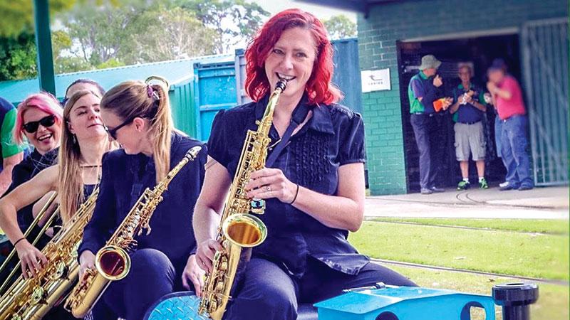Swing-alicious Hits McPherson Park