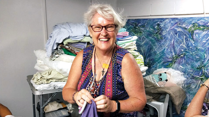 It's in the Pouch – Local Women Sew for Bushfire Wildlife