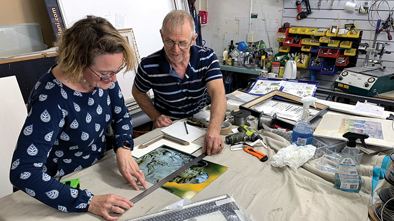 Arthouse Framer Shares Recipe  For Success