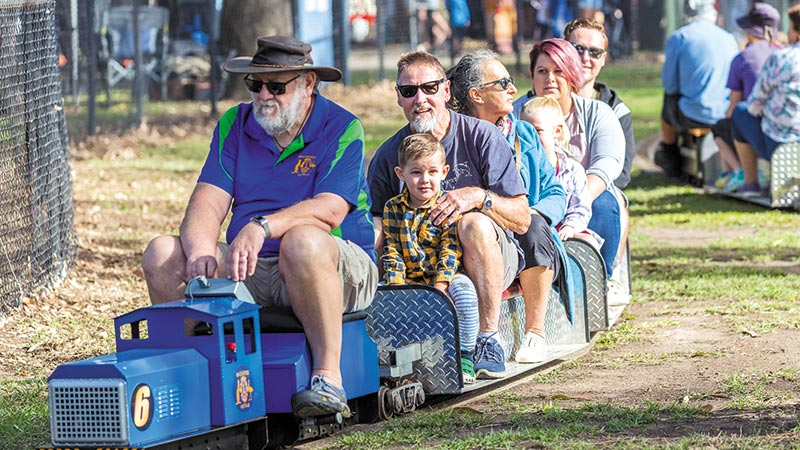 All Aboard For Family Fun