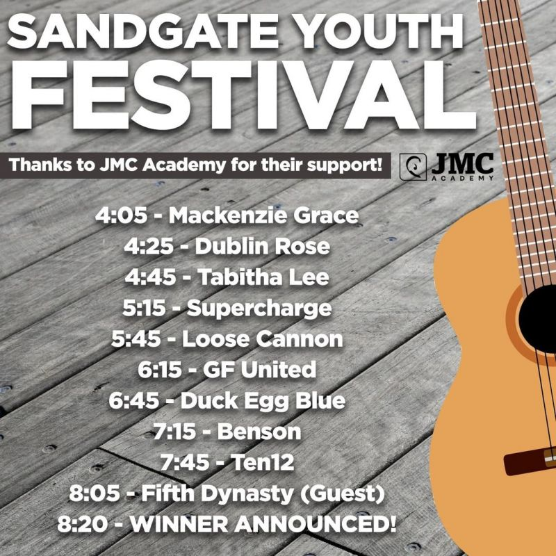 Sandgate is Ready to Rock