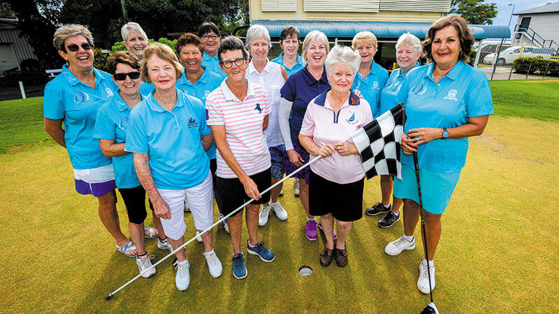 Golfing Women Celebrate 100 Years