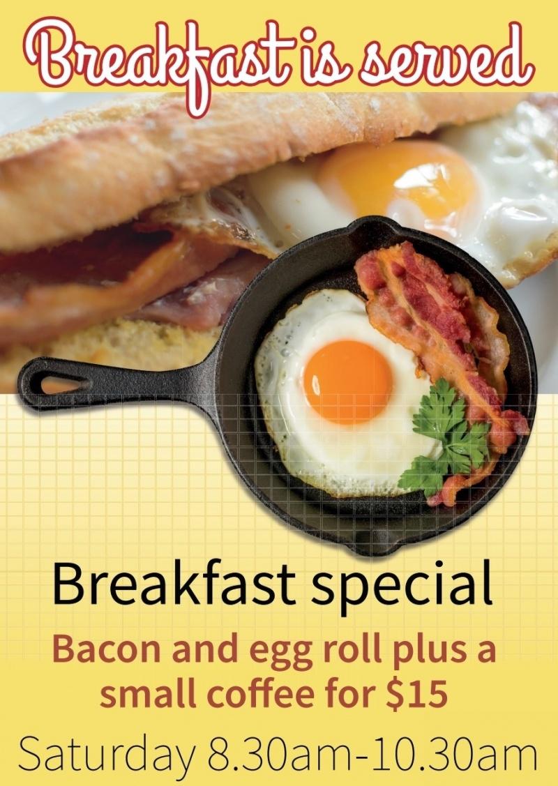 Saturday Breakfast Special