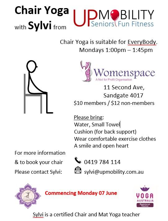Chair Yoga with Sylvi